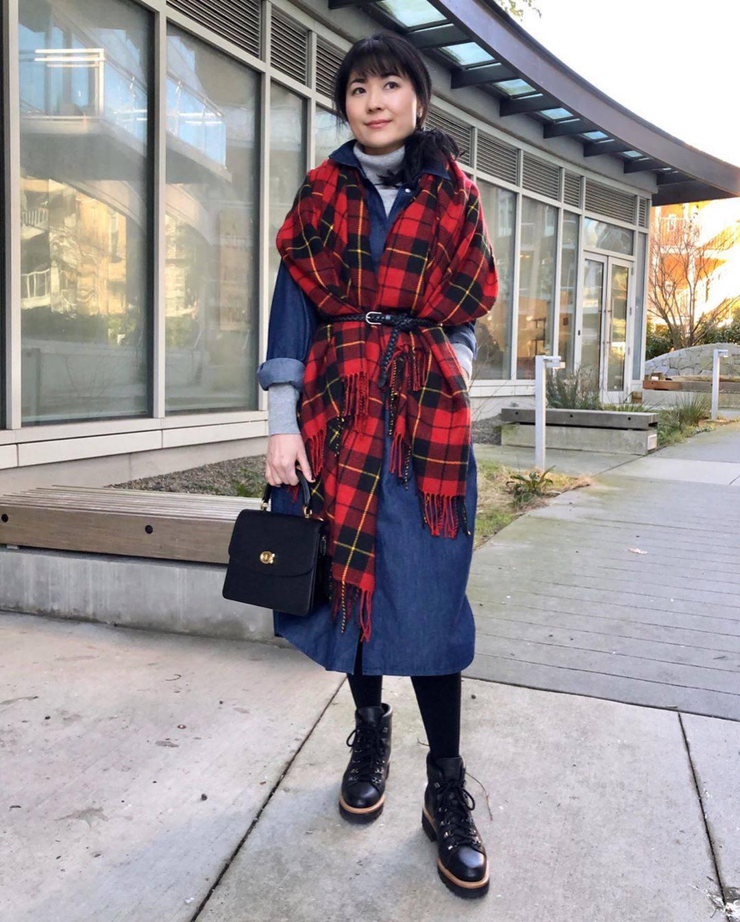 最高気温11度・最低気温1度 i.styleclosetの服装