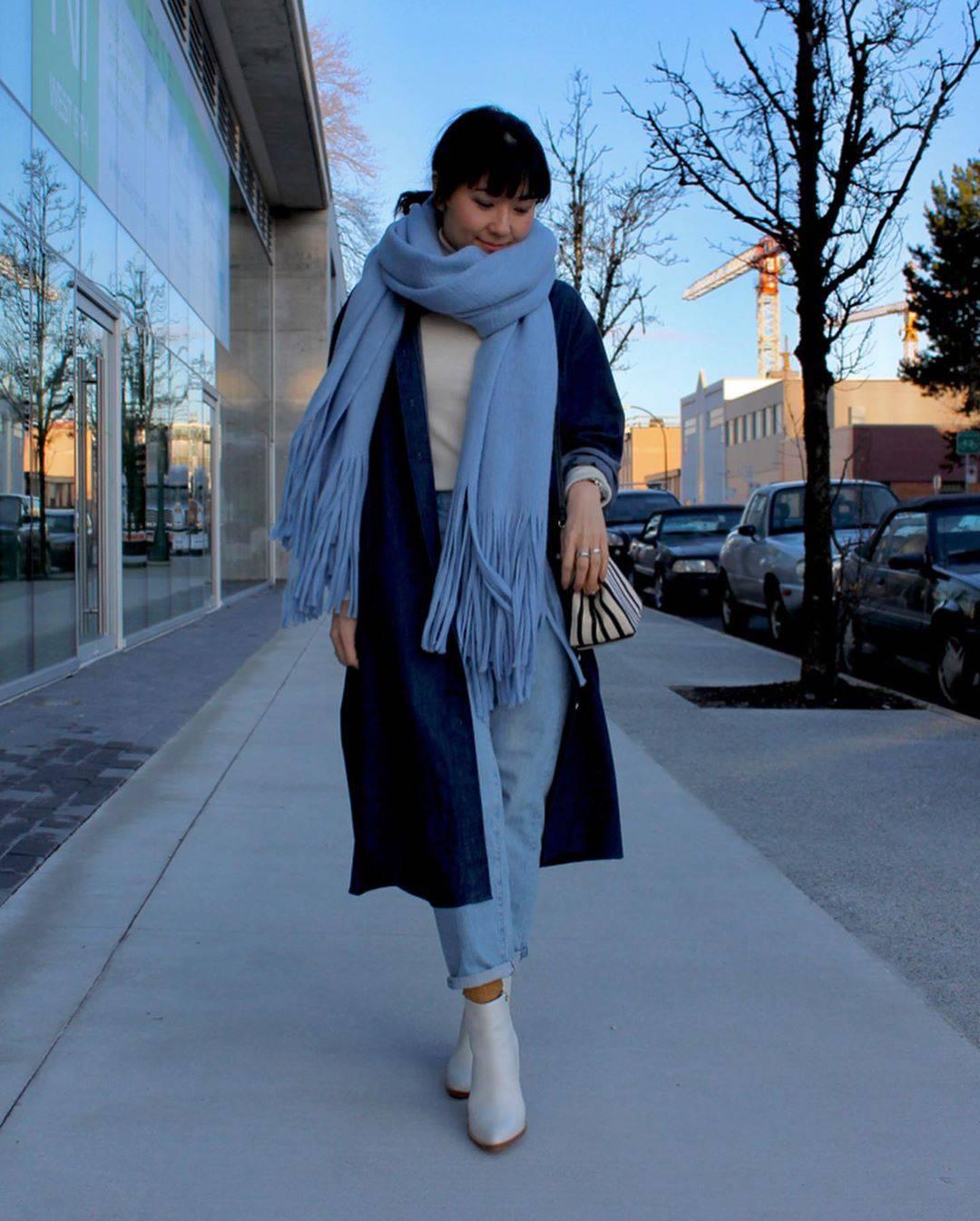 最高気温16度・最低気温8度 i.styleclosetの服装