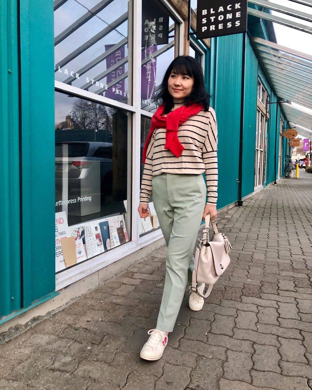 最高気温12度・最低気温1度 i.styleclosetの服装