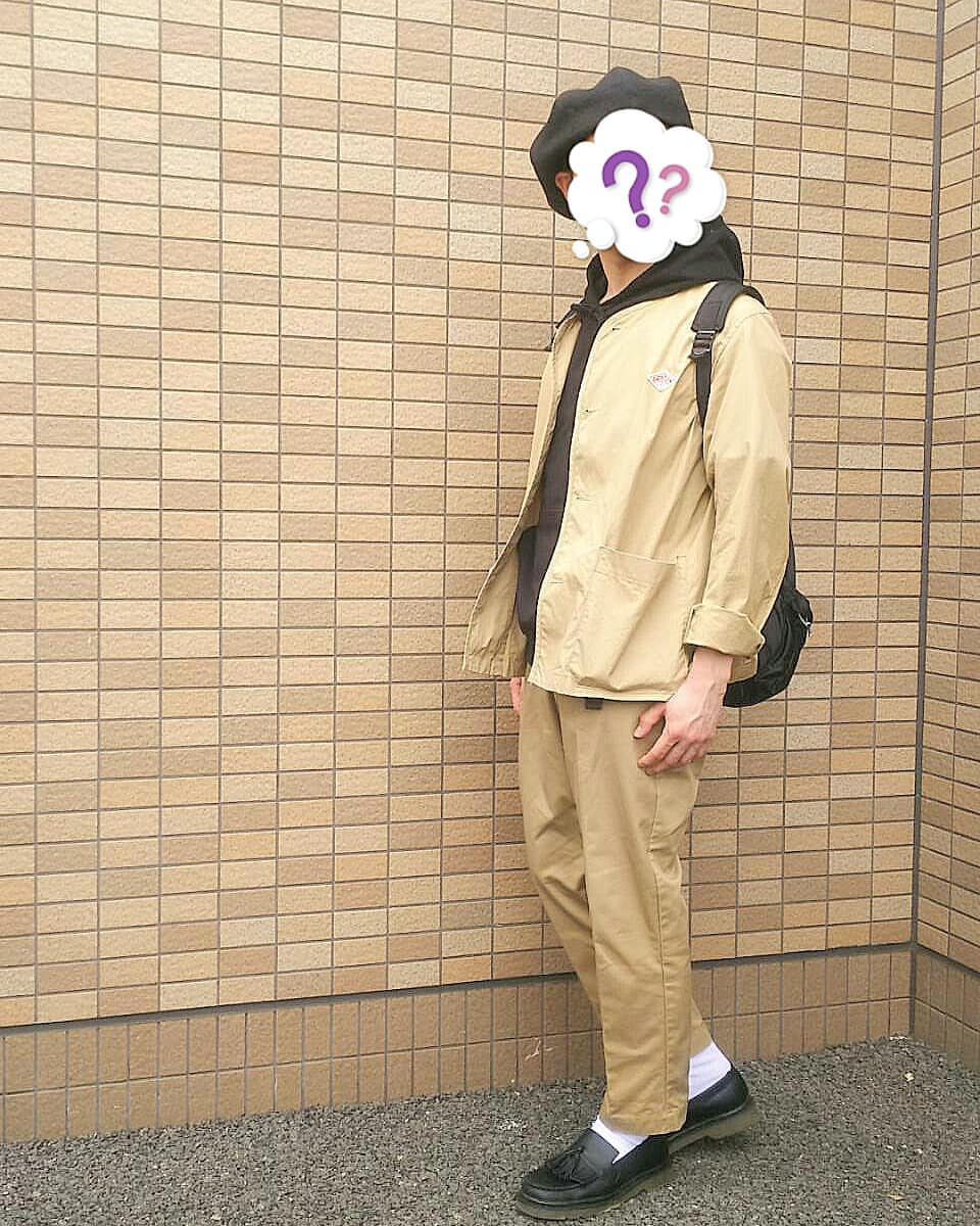 最高気温23度・最低気温19度 j_saaanの服装