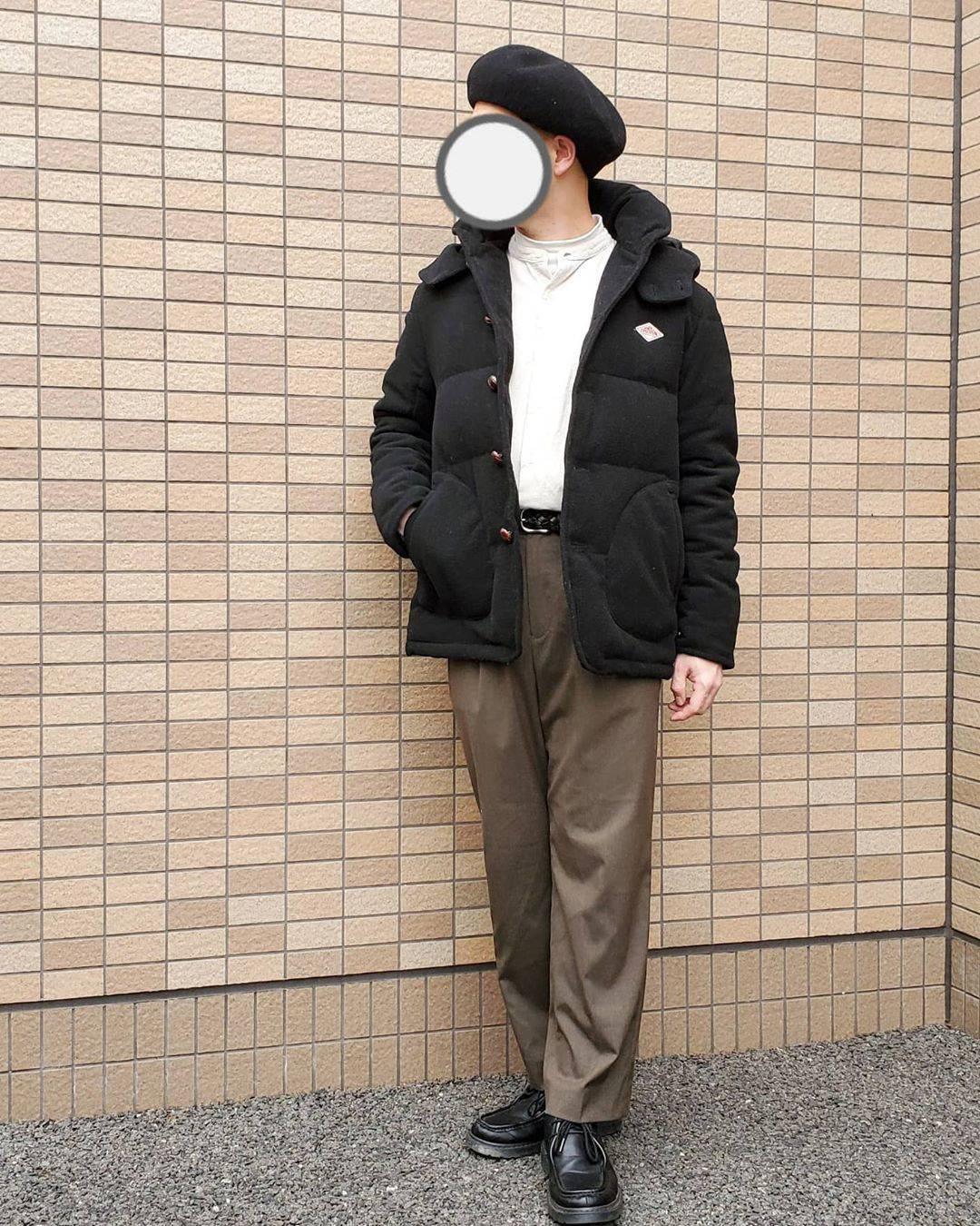 最高気温19度・最低気温9度 j_saaanの服装