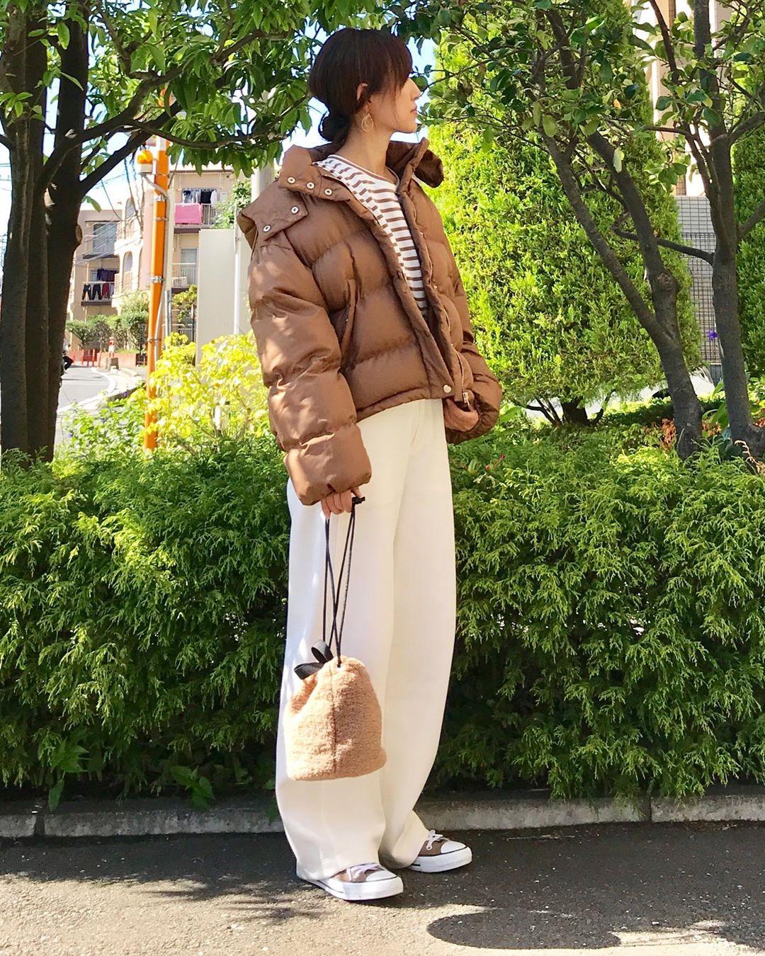 最高気温10度・最低気温3度 k664rの服装