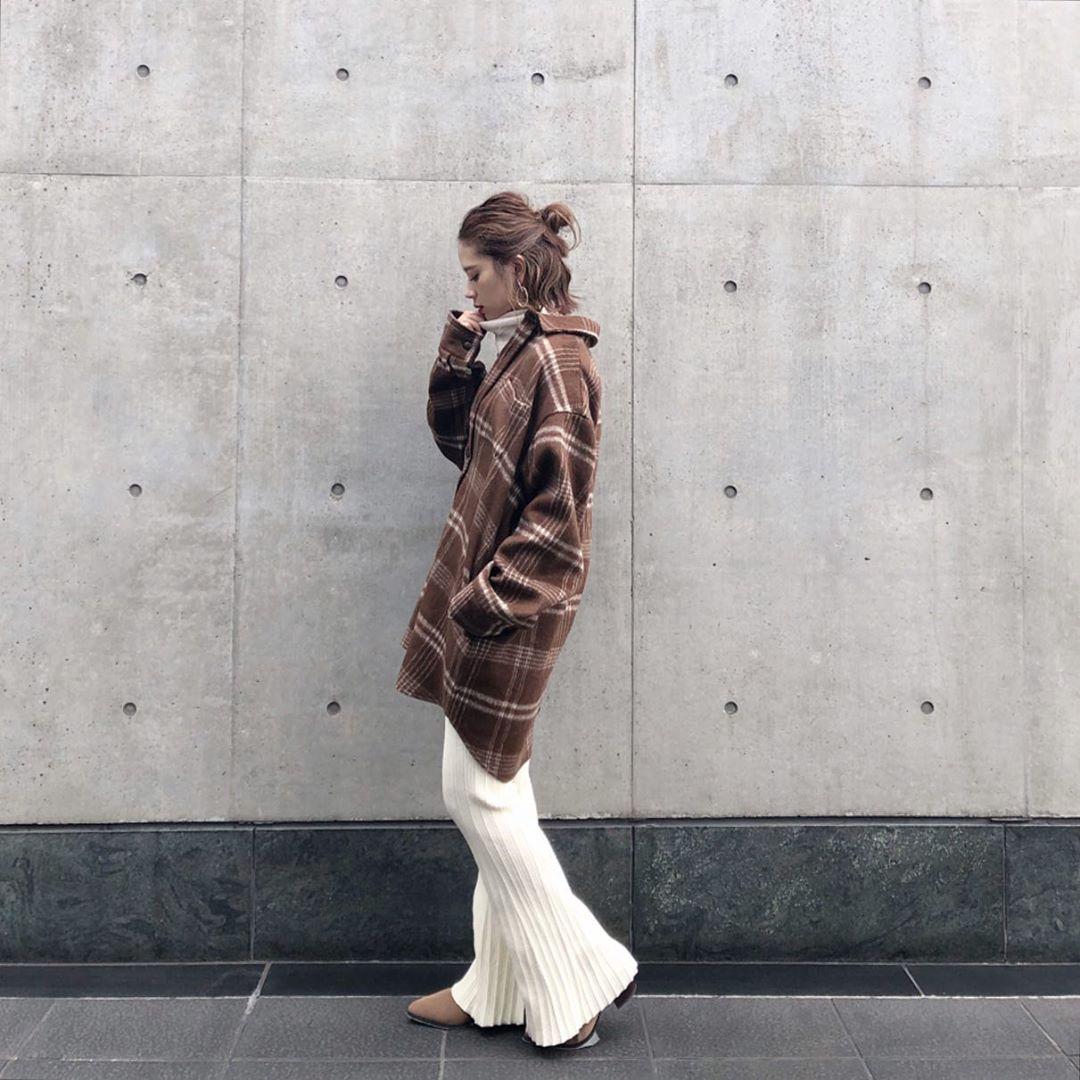 最高気温18度・最低気温8度 ka_llyの服装