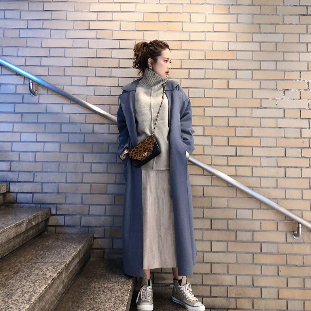 最高気温15度・最低気温5度 ka_llyの服装