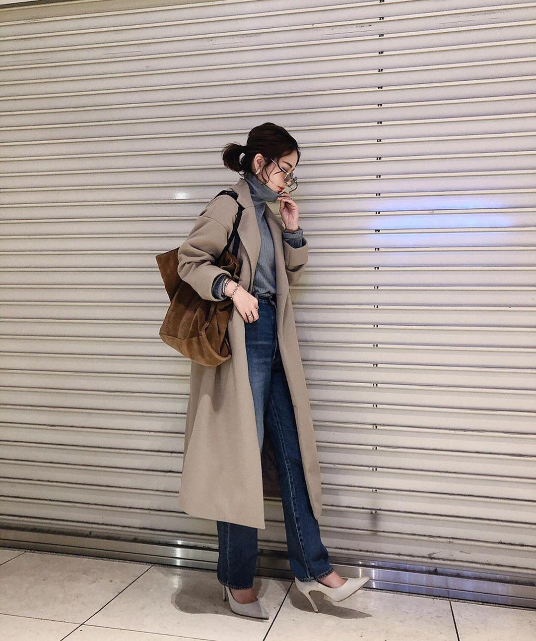 最高気温18度・最低気温7度 ka_llyの服装