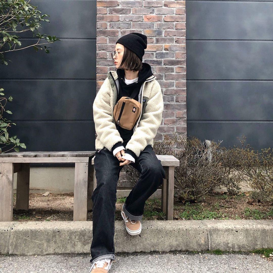 最高気温17度・最低気温8度 ka_llyの服装