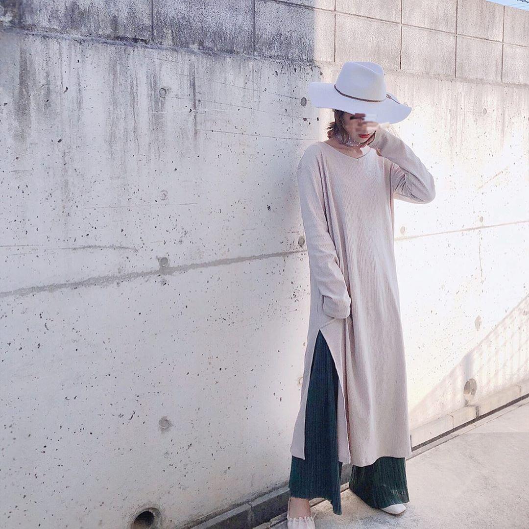 最高気温20度・最低気温10度 ka_llyの服装
