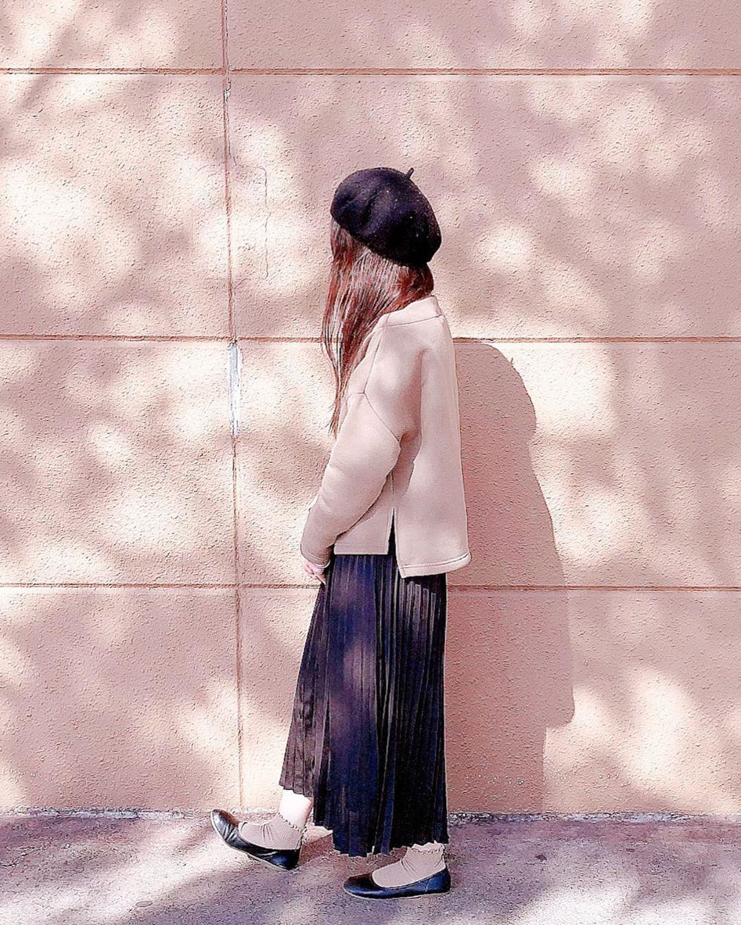 最高気温15度・最低気温5度 kimi_wearの服装