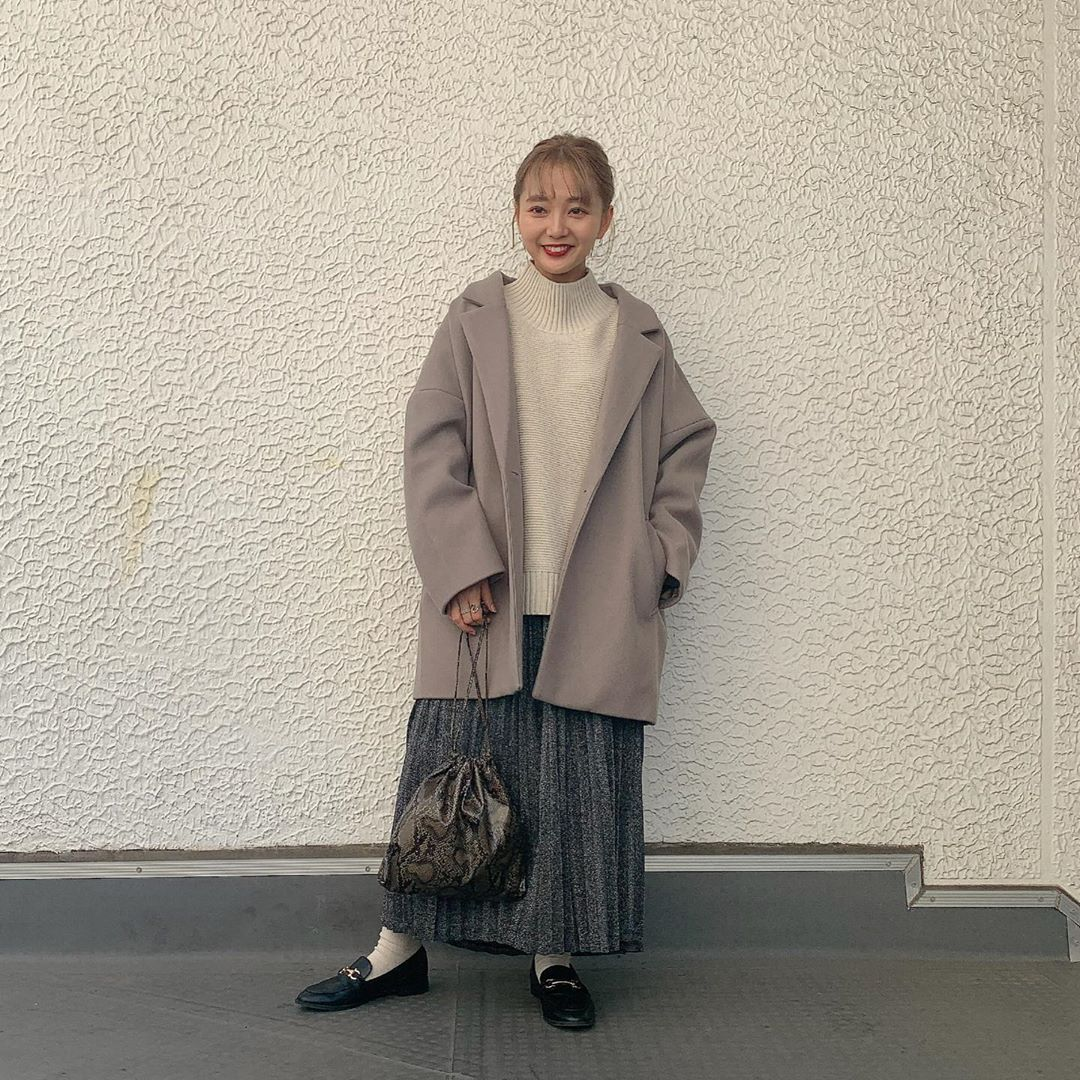 最高気温15度・最低気温5度 kooooomi64の服装