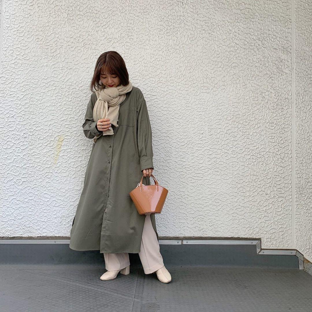 最高気温15度・最低気温7度 kooooomi64の服装