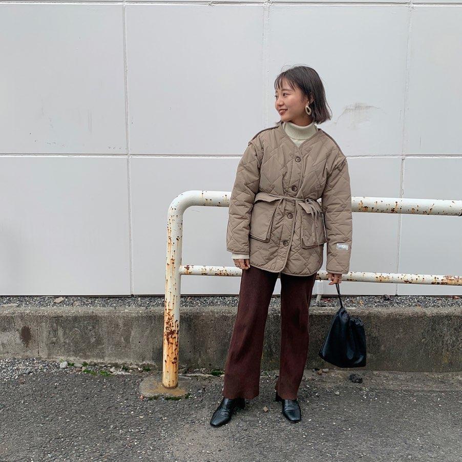 最高気温12度・最低気温5度 kooooomi64の服装