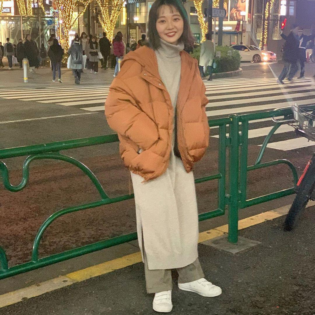 最高気温5度・最低気温0度 kooooomi64の服装