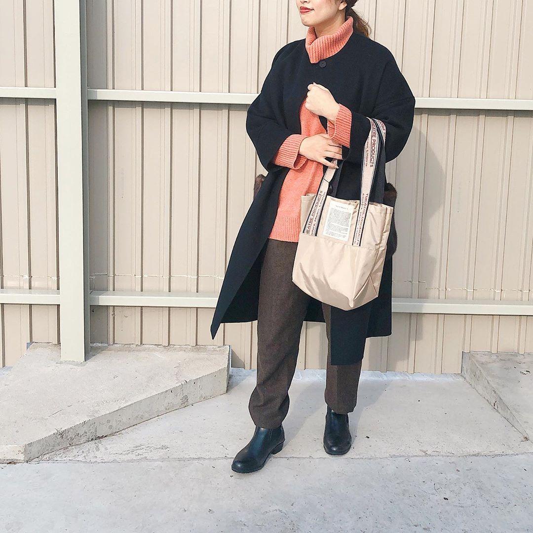 最高気温10度・最低気温3度 maako28の服装