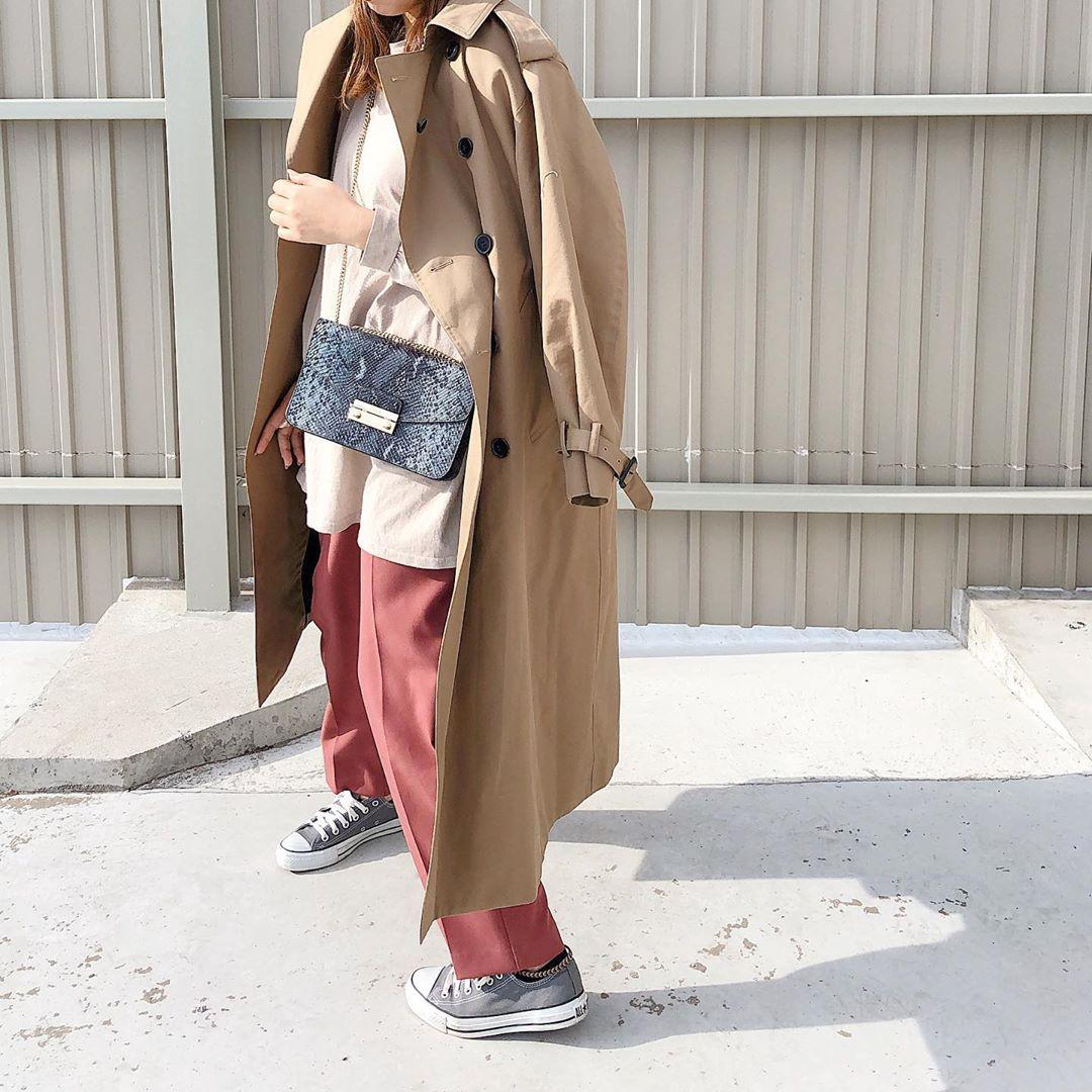 最高気温15度・最低気温5度 maako28の服装