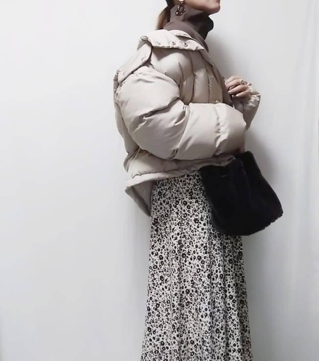 最高気温9度・最低気温3度 mamkorisaの服装