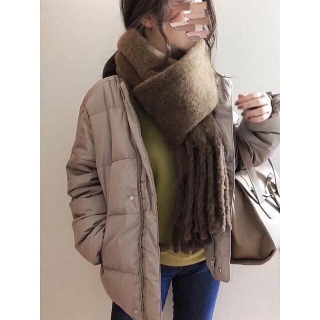 最高気温5度・最低気温0度 merumo18の服装