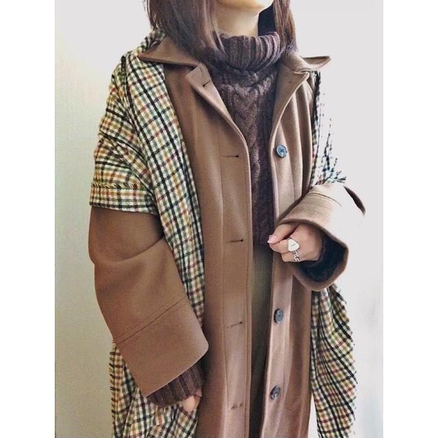 最高気温15度・最低気温5度 merumo18の服装
