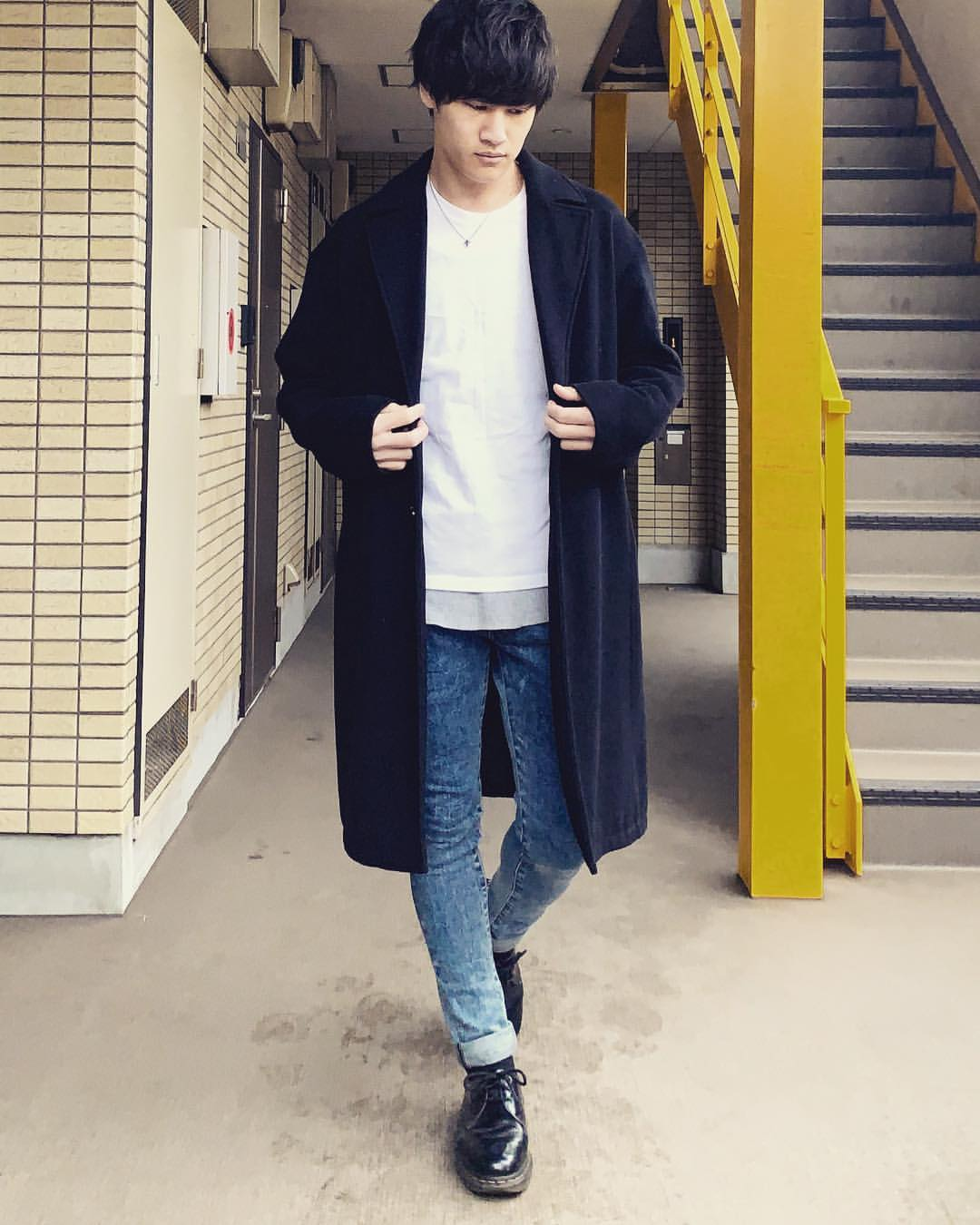 最高気温7度・最低気温5度 miya_ki_0821の服装