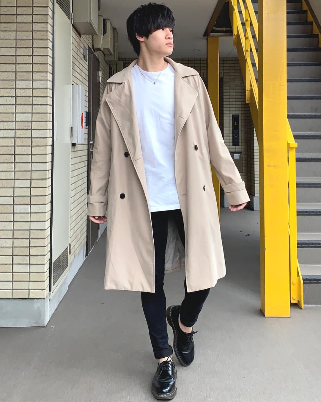 最高気温16度・最低気温9度 miya_ki_0821の服装