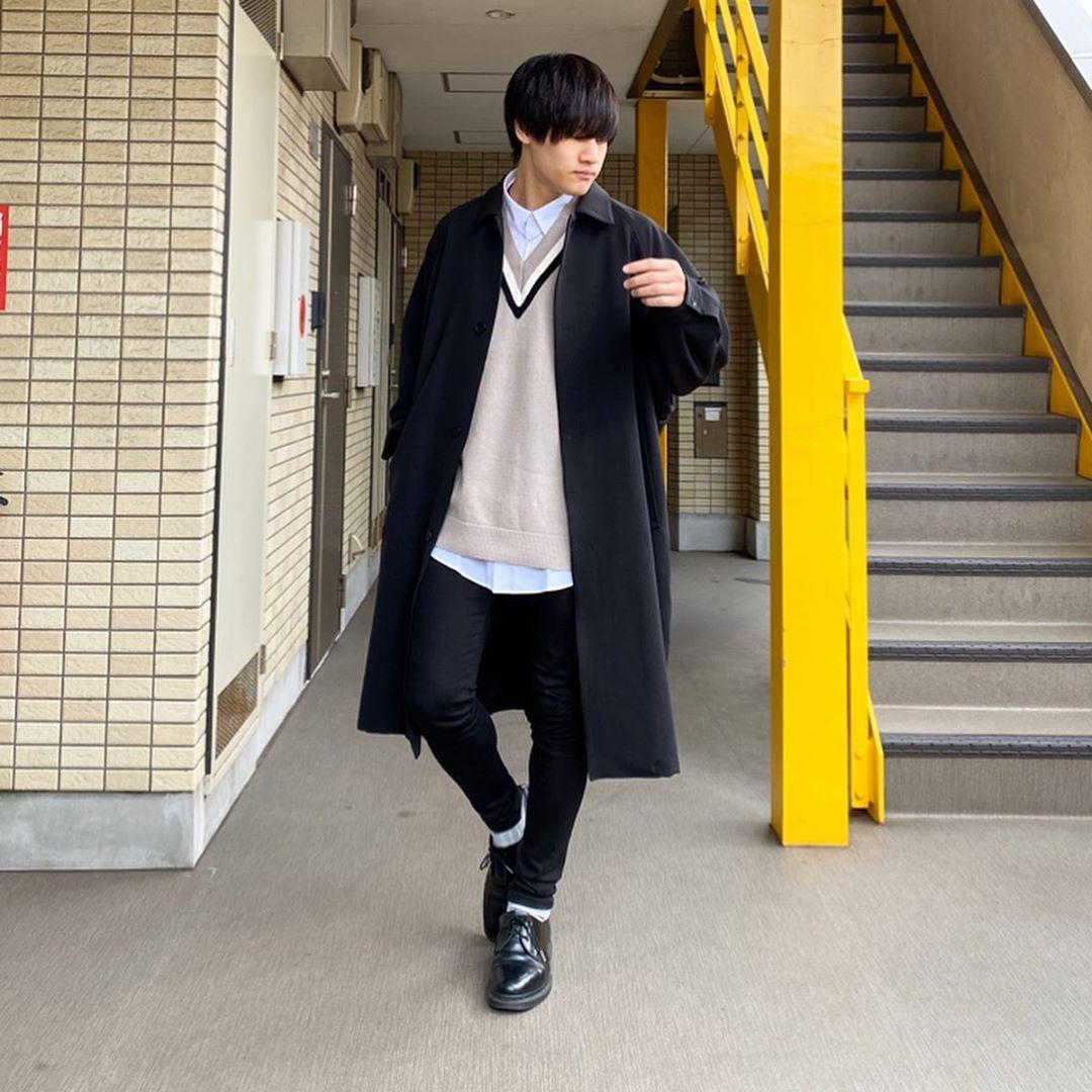 最高気温10度・最低気温2度 miya_ki_0821の服装