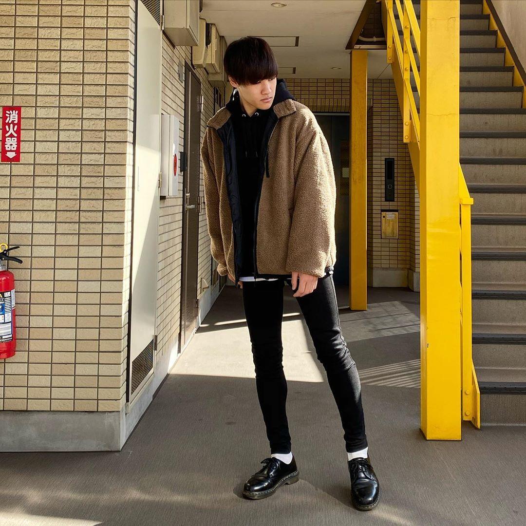 最高気温15度・最低気温10度 miya_ki_0821の服装
