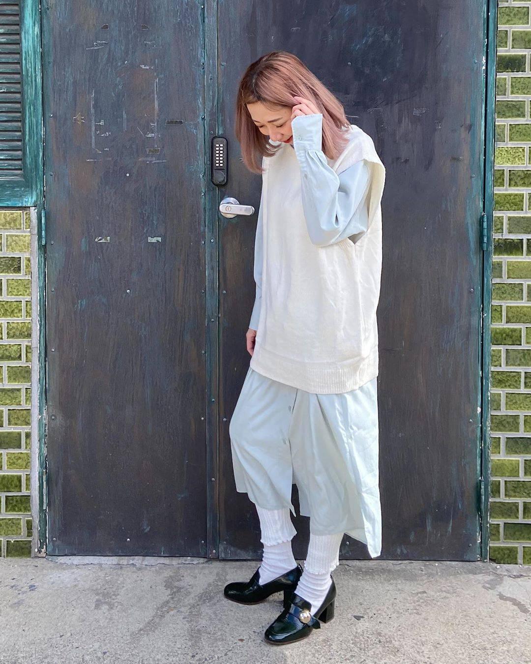 最高気温18度・最低気温6度 mk_kbys_の服装