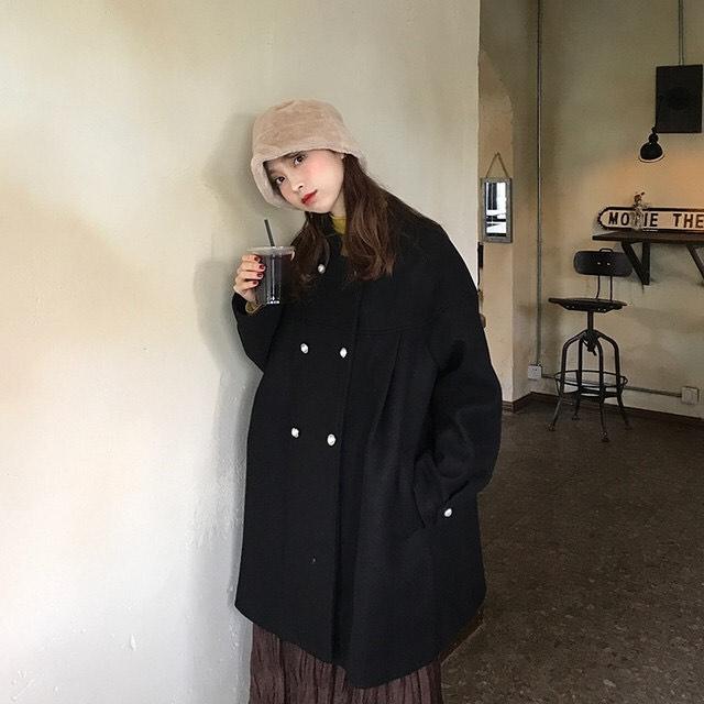 最高気温15度・最低気温5度 mokkoclosetの服装