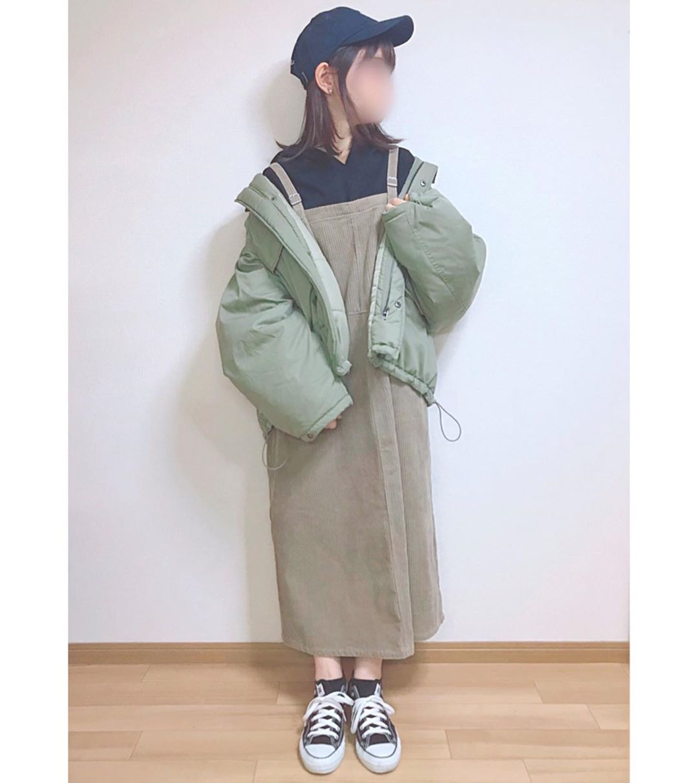 最高気温5度・最低気温0度 momo_wearの服装