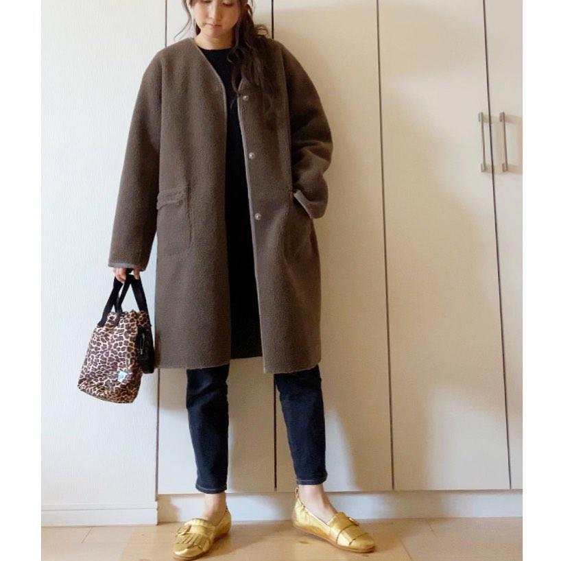 最高気温15度・最低気温5度 nanama132の服装