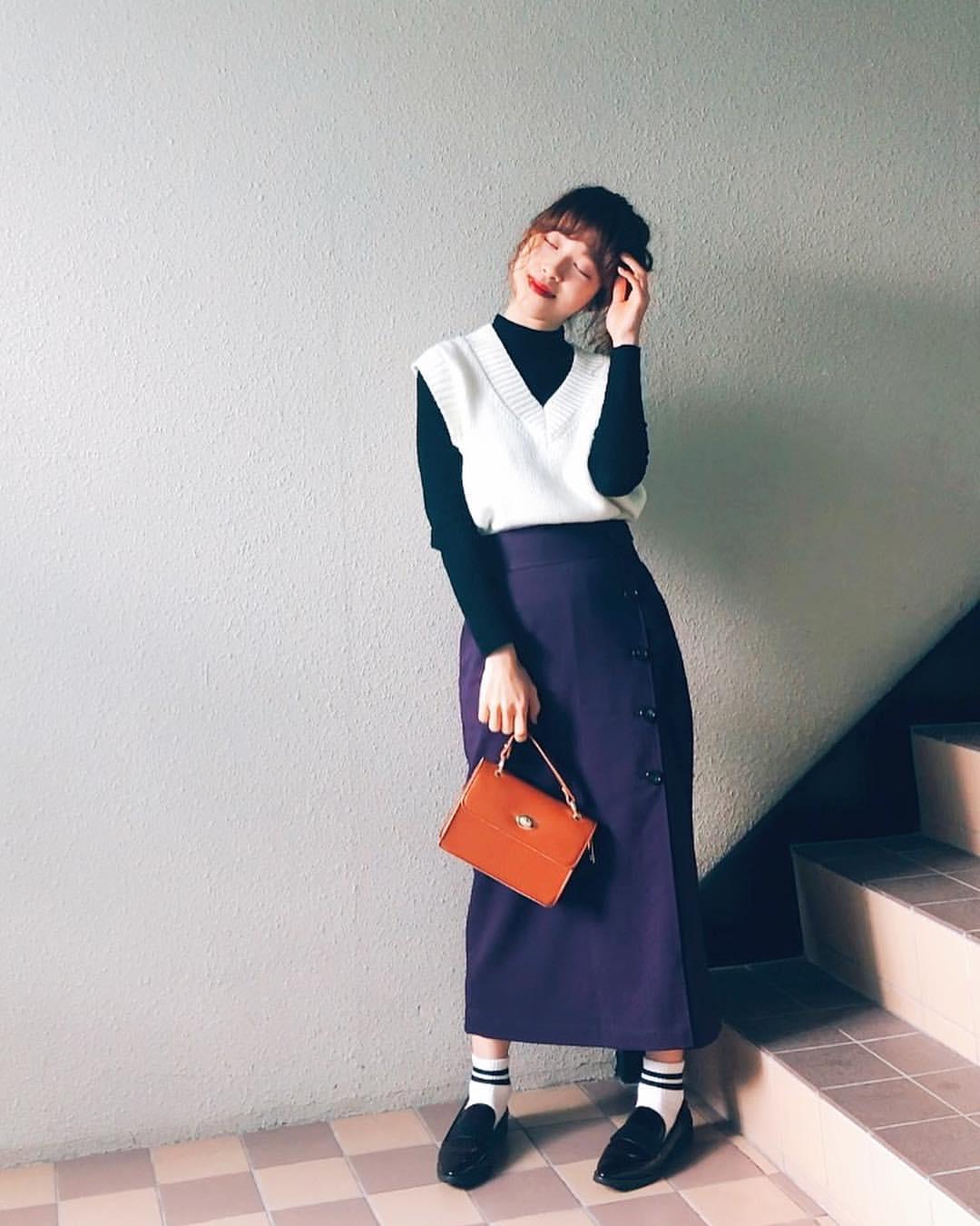 最高気温8度・最低気温1度 natsu_outfitsの服装