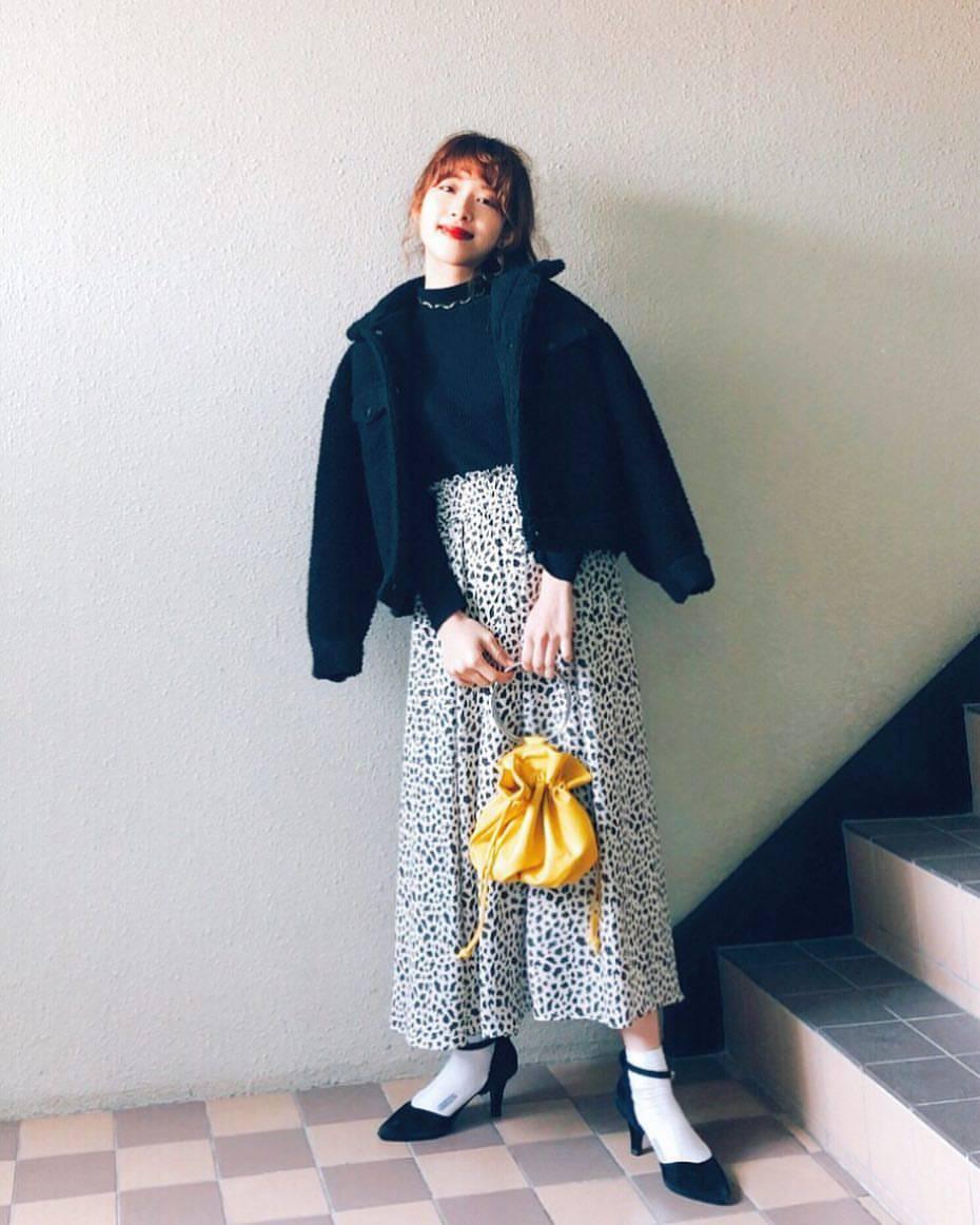 最高気温6度・最低気温2度 natsu_outfitsの服装