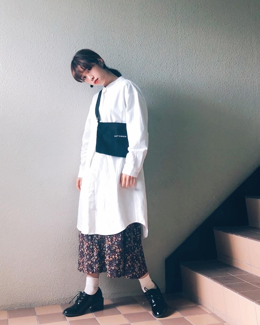 最高気温9度・最低気温1度 natsu_outfitsの服装