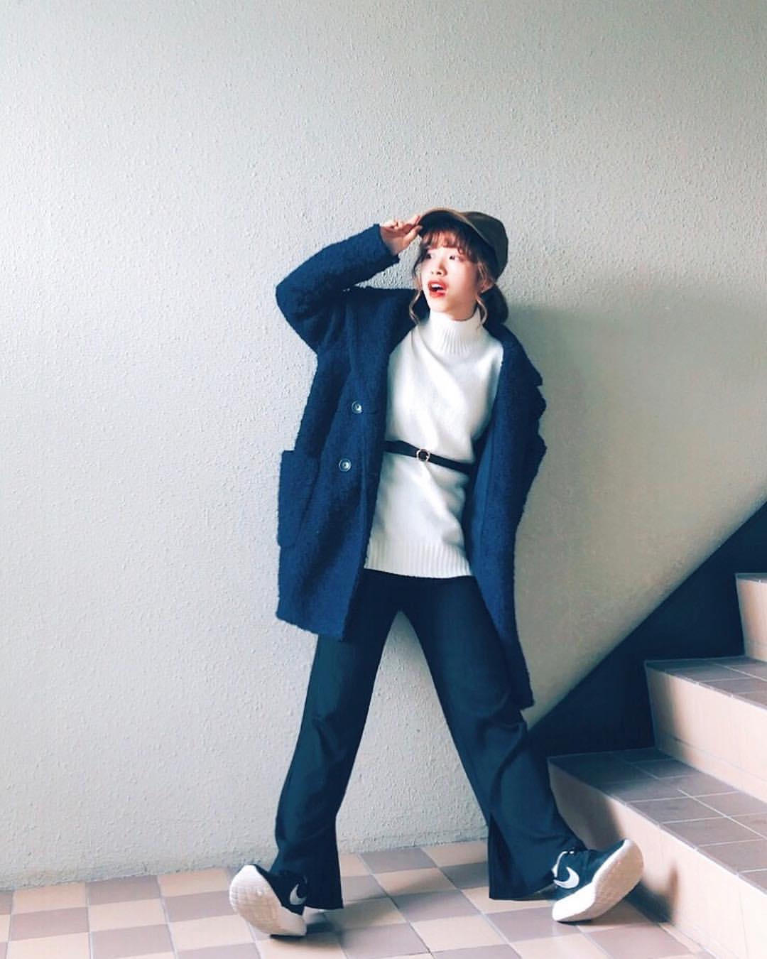 最高気温11度・最低気温1度 natsu_outfitsの服装