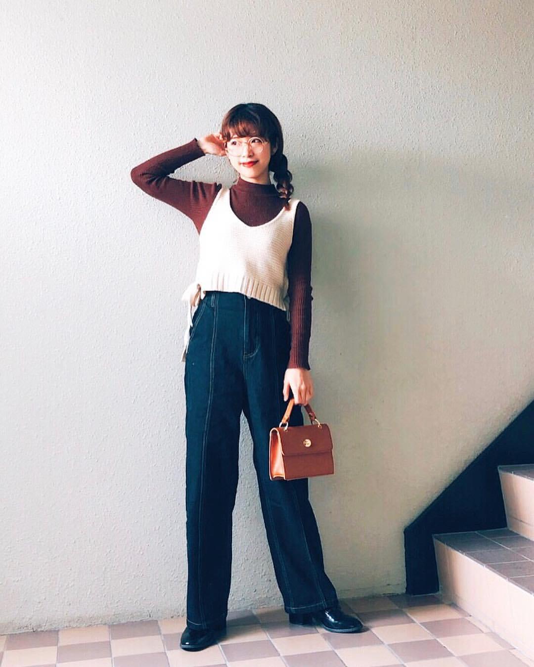 最高気温13度・最低気温0度 natsu_outfitsの服装