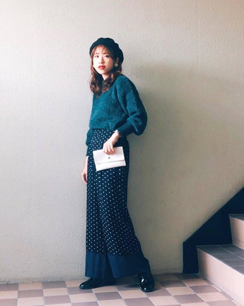 最高気温7度・最低気温3度 natsu_outfitsの服装