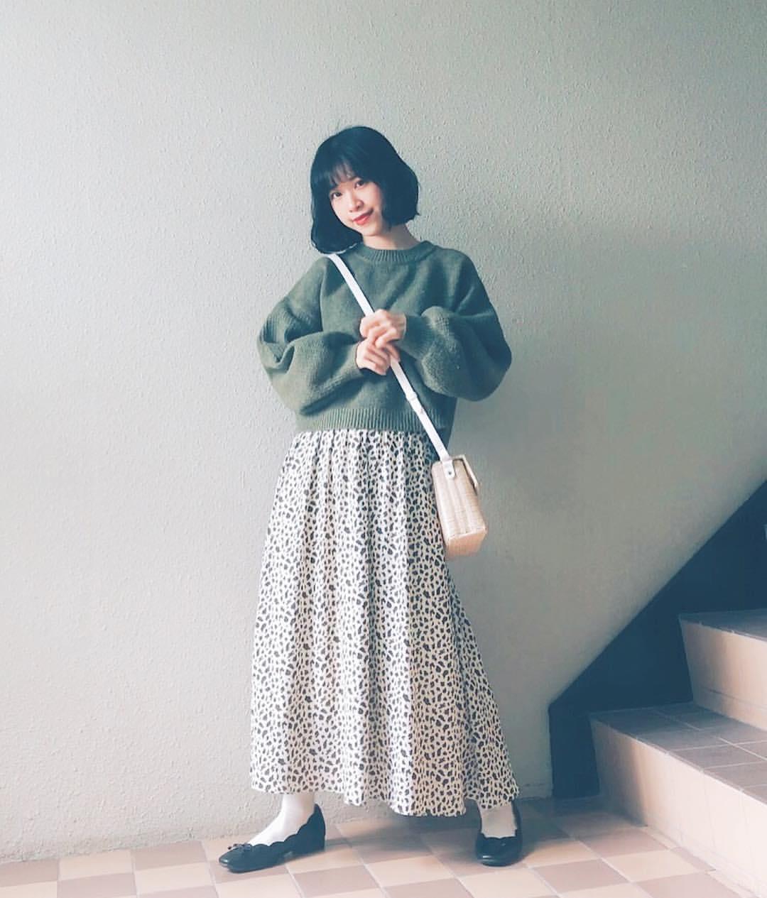 最高気温10度・最低気温4度 natsu_outfitsの服装