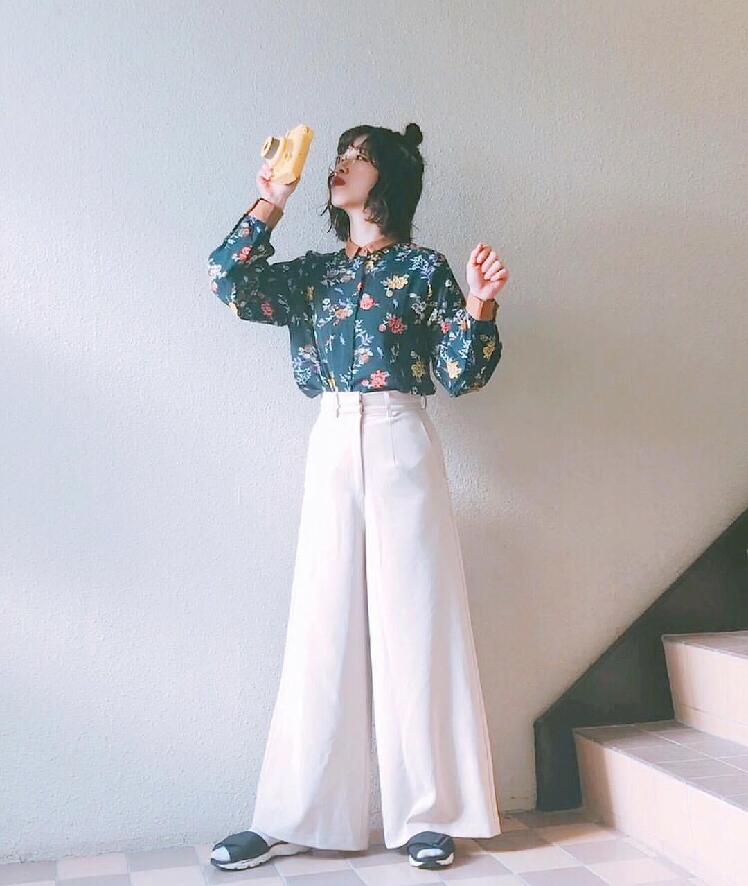 最高気温9度・最低気温4度 natsu_outfitsの服装