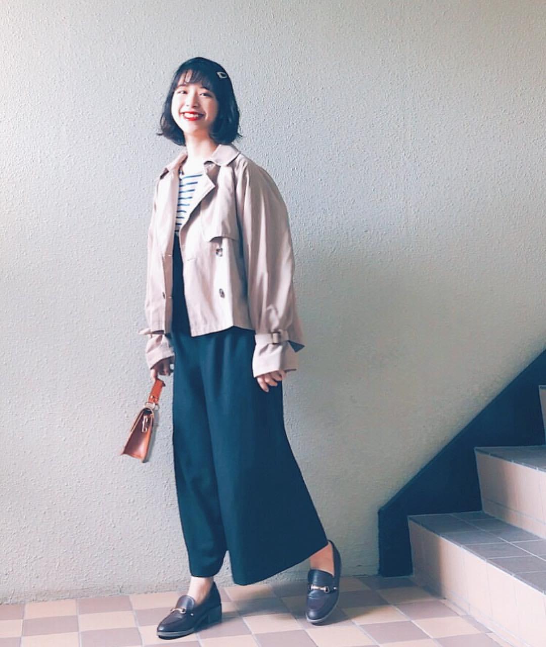 最高気温16度・最低気温3度 natsu_outfitsの服装