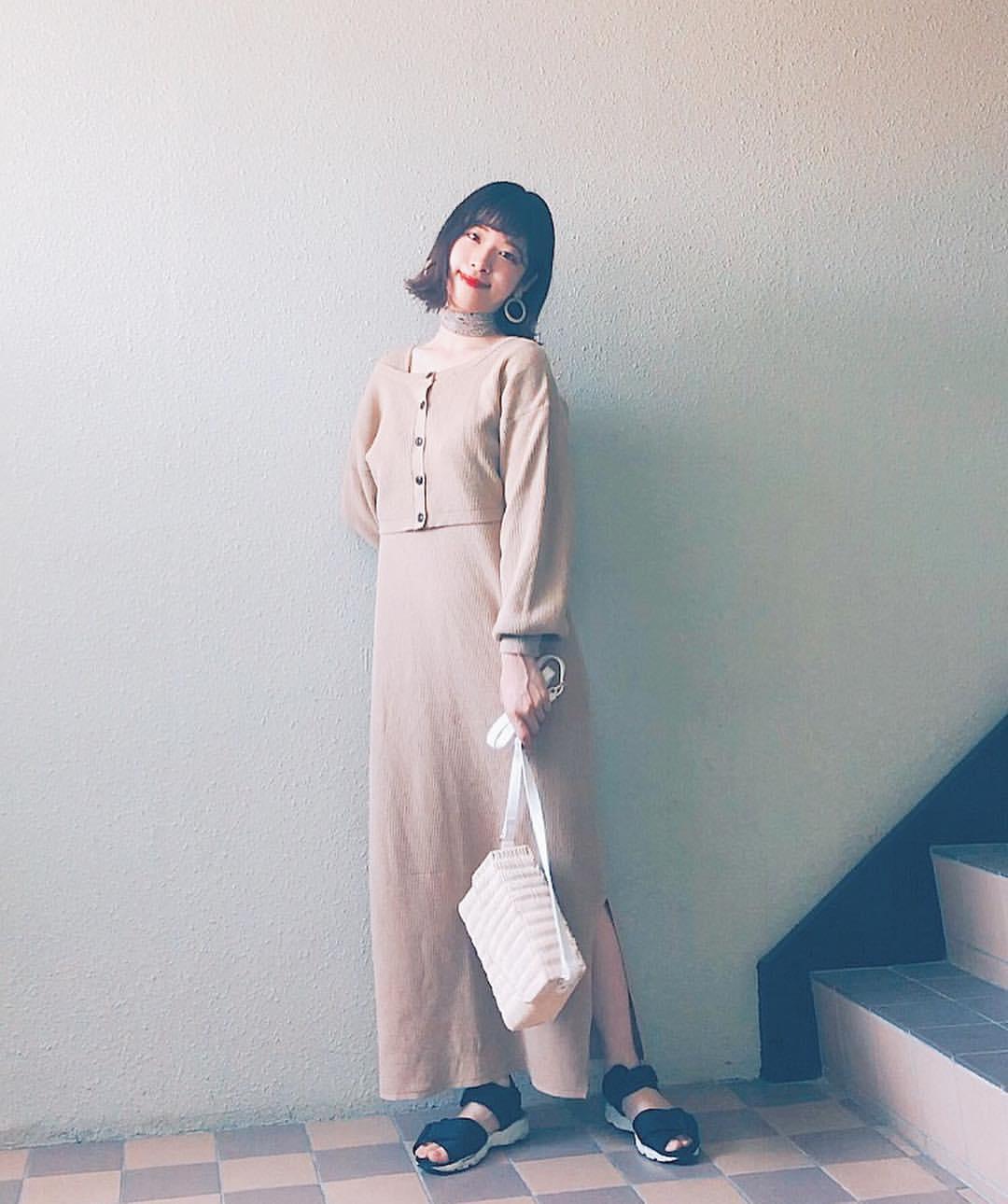 最高気温24度・最低気温14度 natsu_outfitsの服装