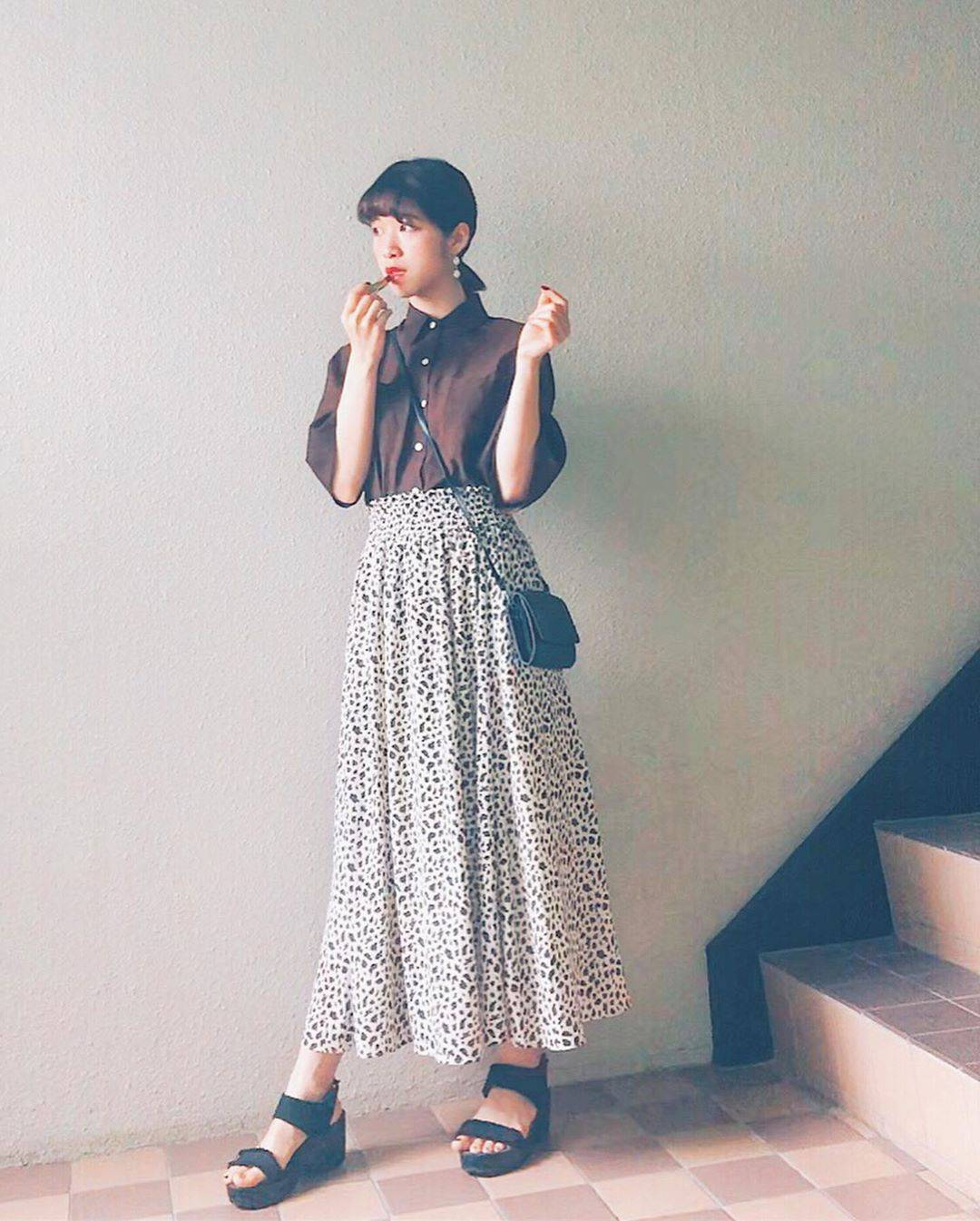 最高気温28度・最低気温19度 natsu_outfitsの服装