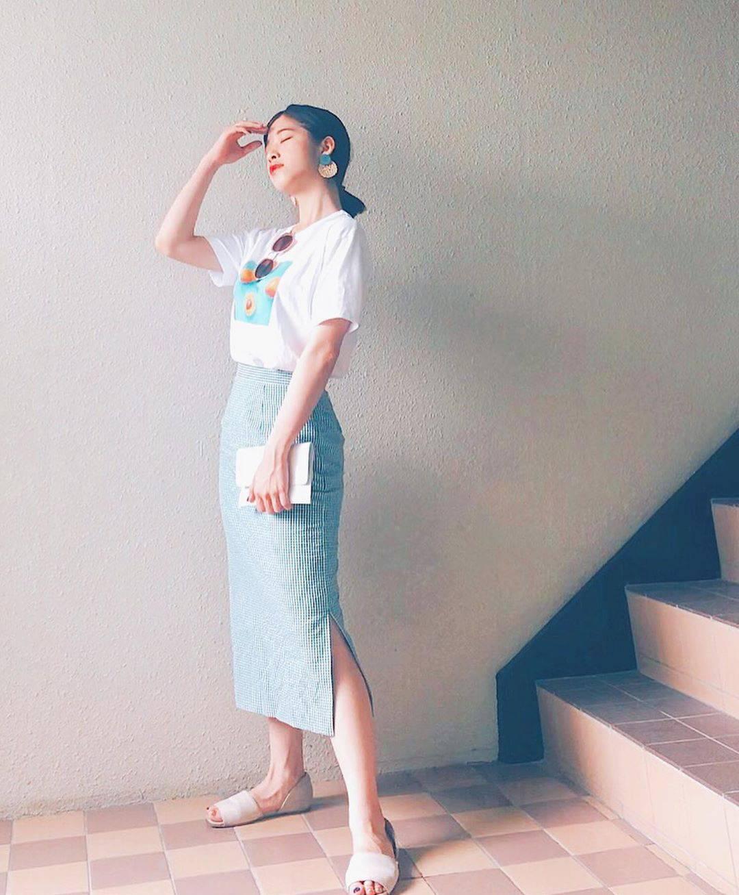 最高気温25度・最低気温20度 natsu_outfitsの服装