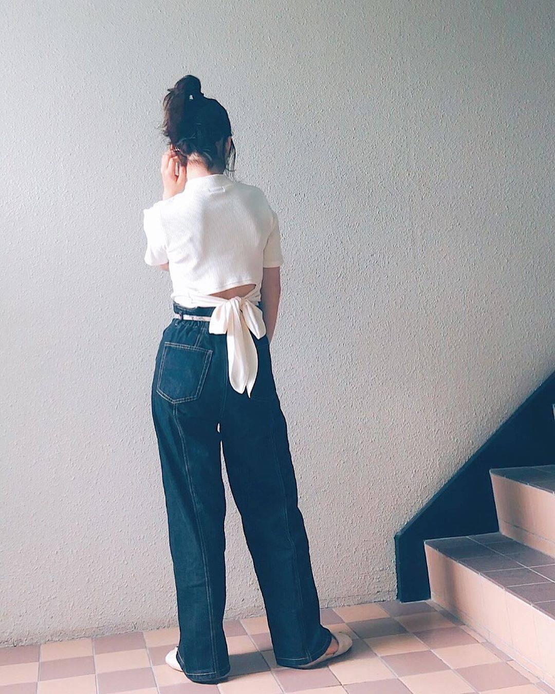 最高気温30度・最低気温16度 natsu_outfitsの服装