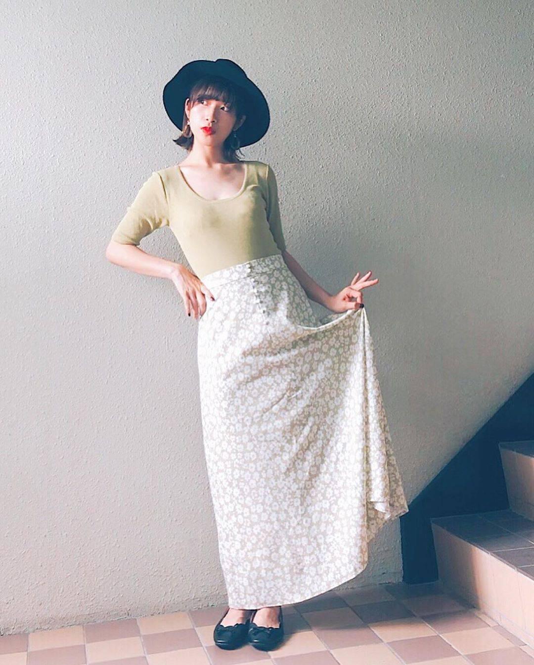 最高気温28度・最低気温18度 natsu_outfitsの服装