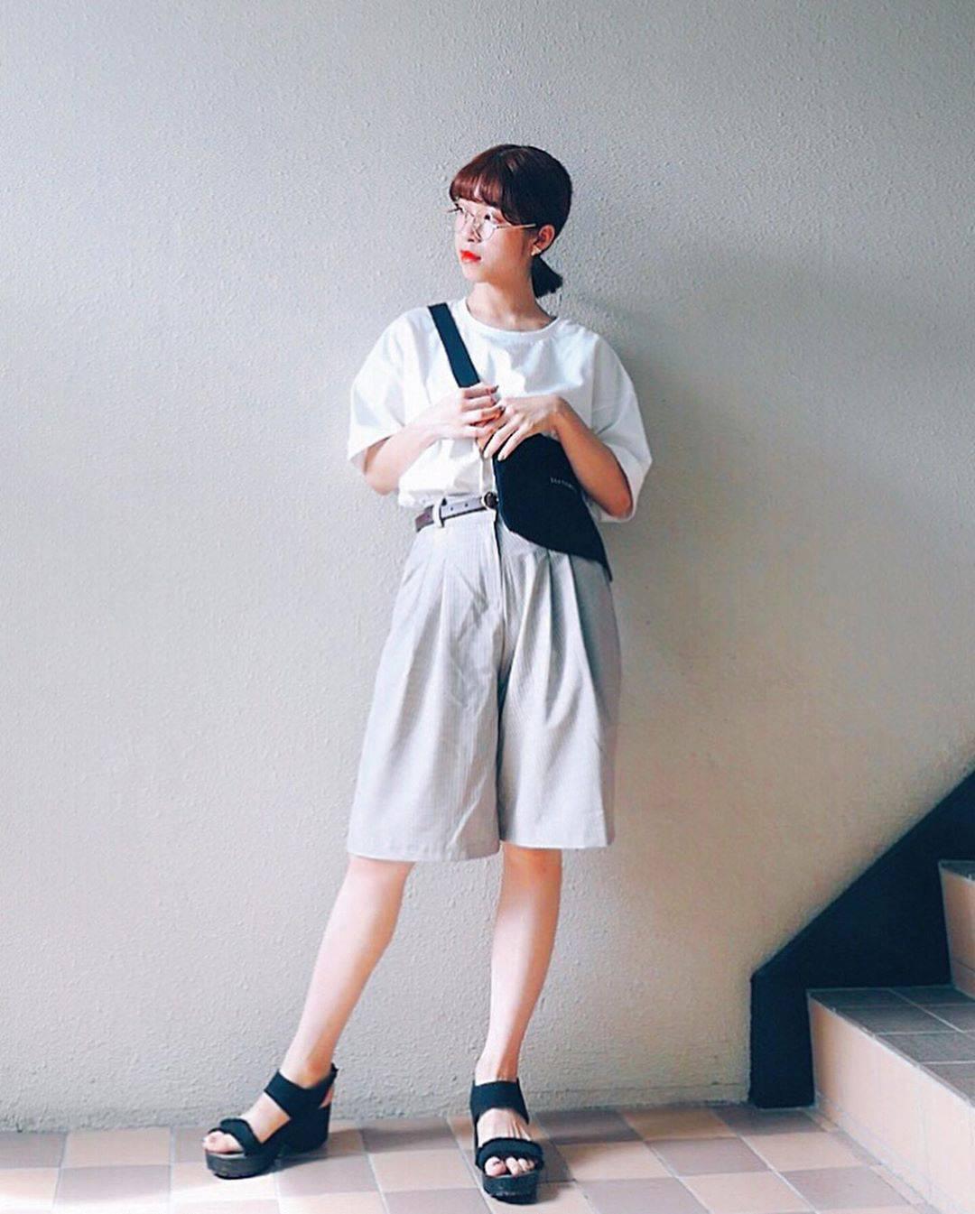 最高気温30度・最低気温21度 natsu_outfitsの服装