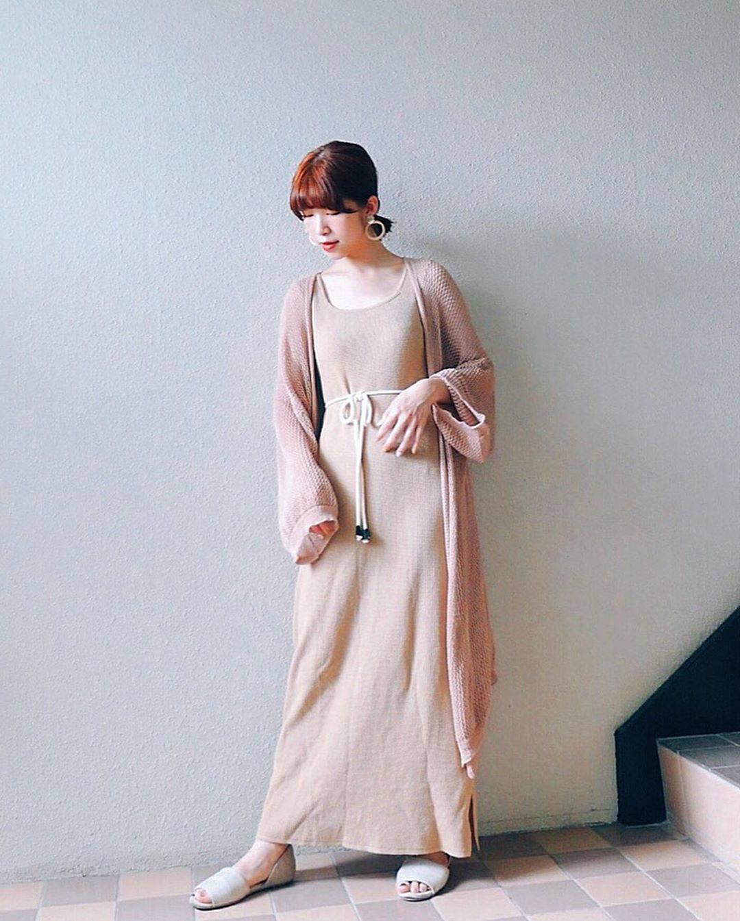 最高気温24度・最低気温21度 natsu_outfitsの服装