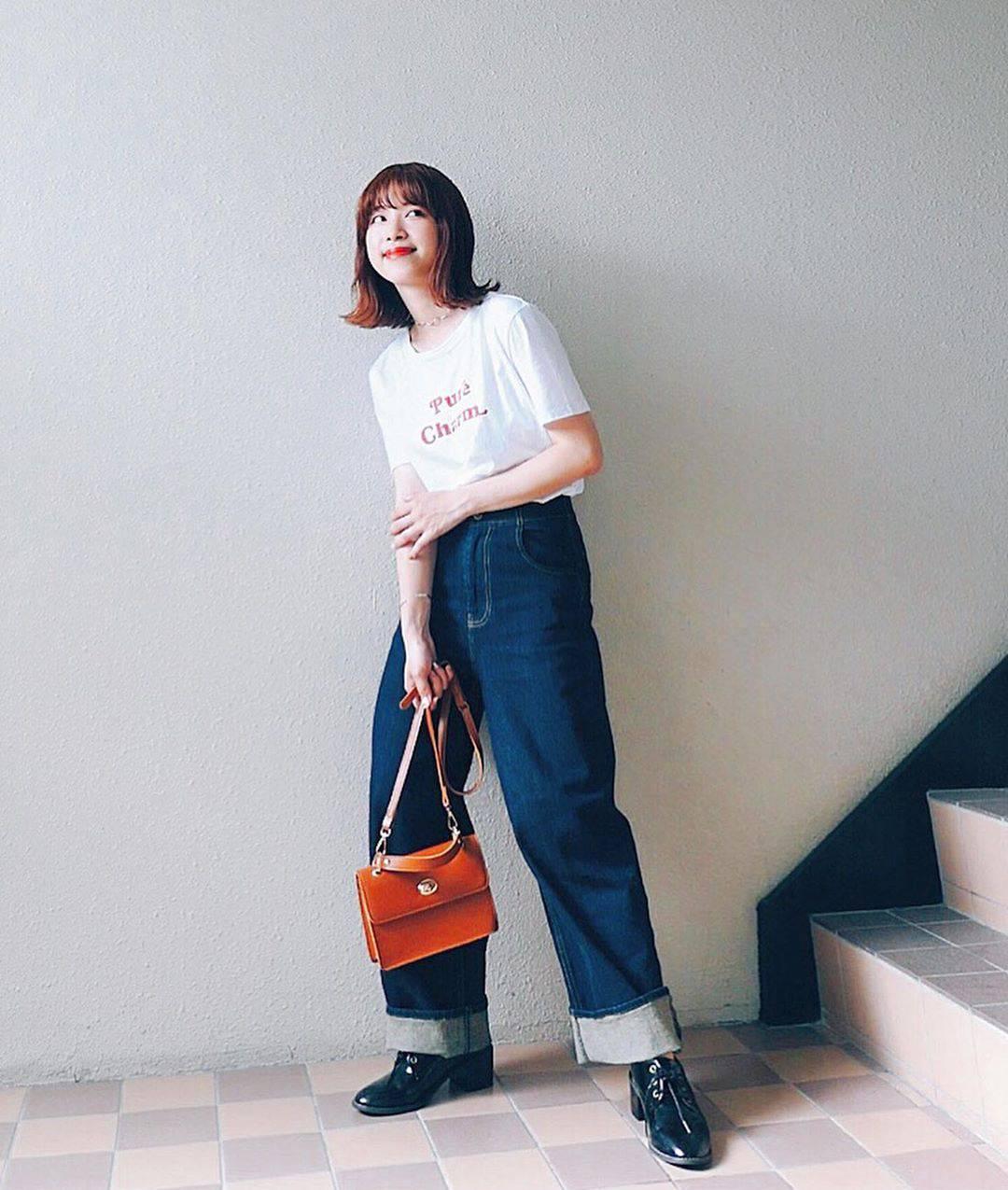 最高気温21度・最低気温18度 natsu_outfitsの服装