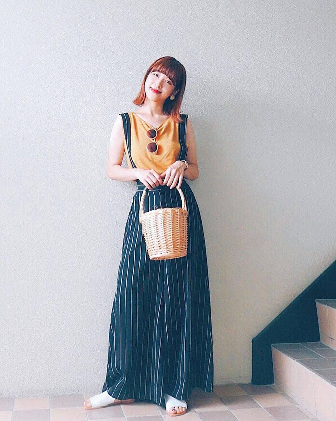 最高気温31度・最低気温23度 natsu_outfitsの服装