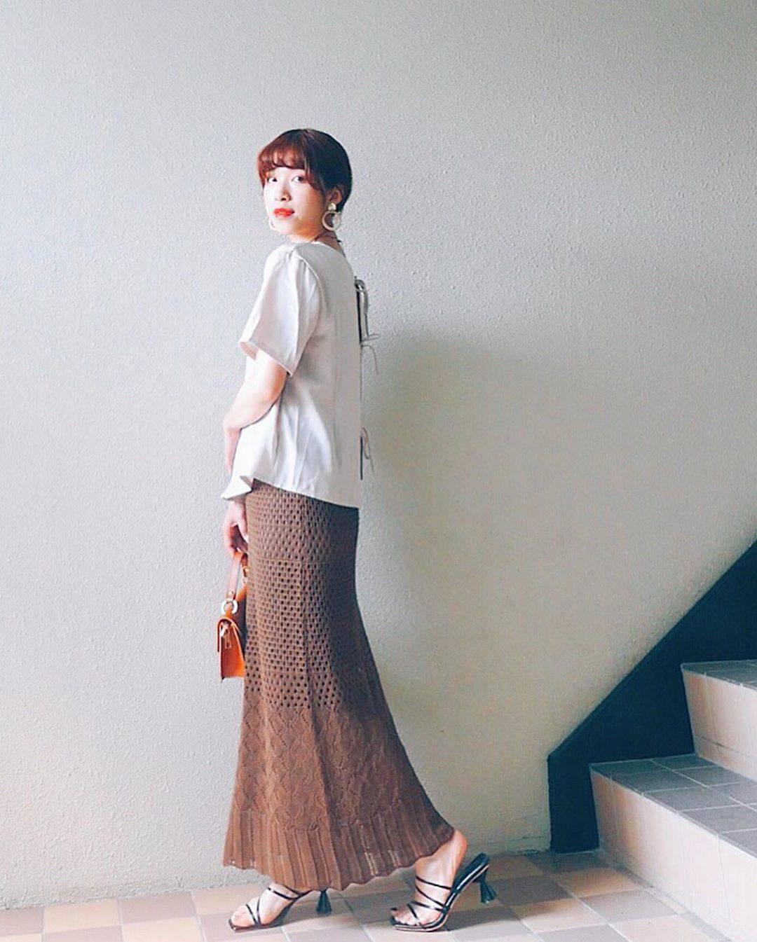 最高気温33度・最低気温25度 natsu_outfitsの服装