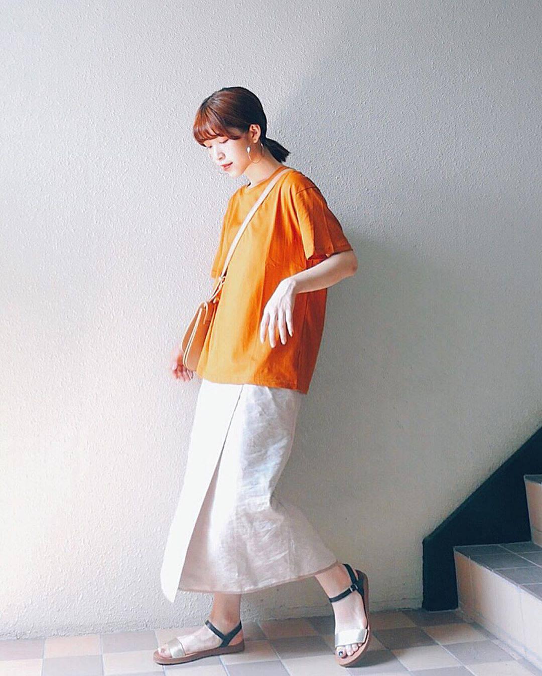 最高気温32度・最低気温24度 natsu_outfitsの服装