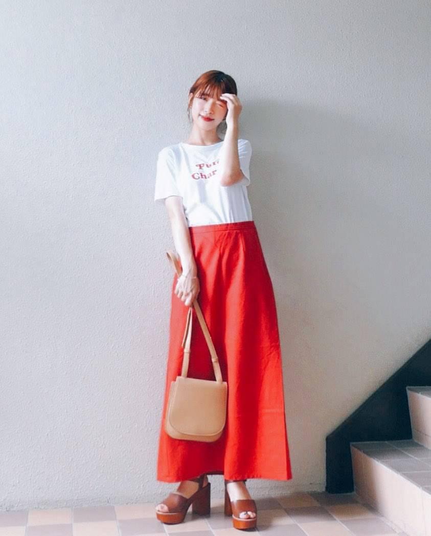 最高気温35度・最低気温26度 natsu_outfitsの服装